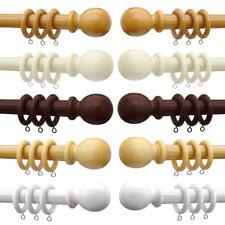 Linens Limited Sanctuary 28mm Wooden Curtain Pole Set