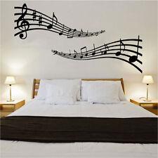 Notas Musicales pegatinas de pared arte musical Instrumento Musical Decoración 60cm X 109cm