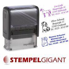 8 Zeilen Onlinedesigner STEMPELGIGANT Textplatte Trodat® Printy 4926-75x38mm