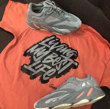 Shirt Match Yeezy 700 Inertia Boost  - Living Life Tee