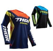 Thor Jersey Fusible Impulsar Enduro Camiseta Motocross Camisa Mx-Camiseta de