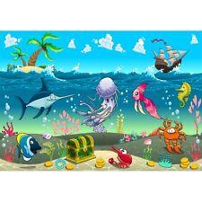 Stickers muraux enfant  géant Mer 15235