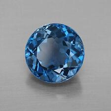 Masterpiece Collection: Round Genuine (Natural) London Blue Topaz (3-11mm)