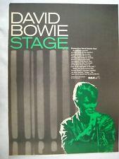 """ORIGINAL 1970s/80s Rock album LP CD PROMO ADS 10x15"""" CHOICE Bowie Queen AC/DC +"""