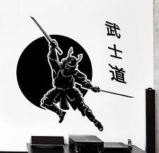 Wall Vinyl Decal Samurai Japan Swords Warriors Japanese Home Interior Decor z405