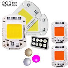 LED COB Chip Bead 110V 220V 20W 30W 50W Input Smart IC Floodlight Full Spectrum