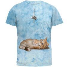 Simple Things Kitty Cat Playtoy Full Mens T Shirt