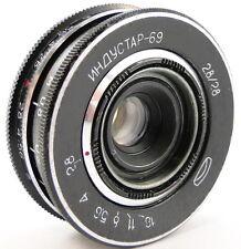 *PERFECT Con.* MMZ-LOMO INDUSTAR-69 2.8/28 Russian USSR Wide Angle Lens M39 #21