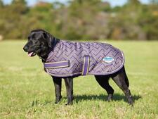 Weatherbeeta Parka 1200D Dog Rug Coat Purple/Grey Criss Cross Wprf S/Strng Outer