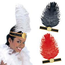 20er Jahre Feder Kopfschmuck Charleston Stirnband Federschmuck, 3 Farben wählbar