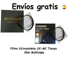 FILTRO PROTECTOR UV-MC (multicapa) TIANYA 49 52 55 58 62 67 72 77 mm