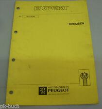 Werkstatthandbuch Peugeot Expert Bremsen ,01-1996