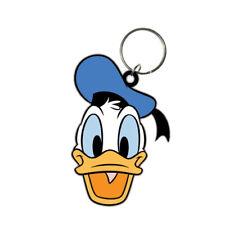 Disney porte-clés caoutchouc Donald Duck 6 cm porte clé mickey keychain 383248