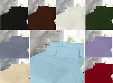 Luxury T180 Set Copripiumino Percalle Qualità normale Tinti 180 fili; Biancheria Da Letto