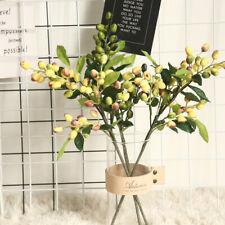 Olive Fruit Christmas Artificial Flower Home Decoration Plant Fake Garden Vase'
