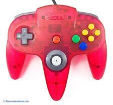 Original Nintendo N64 Controller / Gamepad #Watermelon Red - Zustand auswählbar