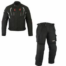 Herren Motorrad Textilkombi ,Motorradkombi mit Protektoren, Wasserdicht