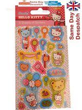 Hello Kitty Fiesta Favor 6 hojas paquete de caracteres de la etiqueta Engomada de Fiesta Niños Bolsa De Botín
