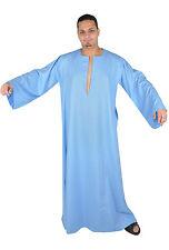 wunderschöner eleganter Herren Kaftan aus1001 Nacht hellblau in Saidi Stil - 337