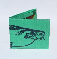 Recycled Fish Feed Man's Wallet Handmade in Cambodia Fair Trade