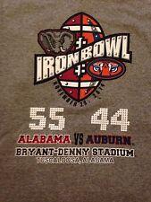 2014 Iron Bowl Score T-shirt 55-44. University of Alabama vs Auburn. Roll Tide