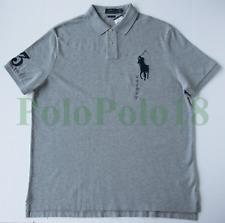 New Polo Ralph Lauren Big Pony 3 Mesh Shirt Custom Slim 2XL