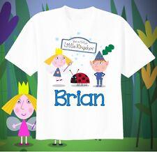 Ben & Holly's Little Kingdom Custom T-shirt Personalize tshirt Birthday gift