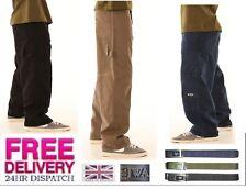Bleubolt Reberirao Men's Skater Loose fit Chinos Trousers Pants Style 6050
