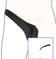 K3512 Sexy para Hombre, Bolsa con Contorno Media Tanga Divertido Suave y Sedoso
