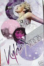 "Kylie Minogue ""X 2008"" Hong Kong Promo Poster - Beautiful, Glamorous, Sexy, Hot!"