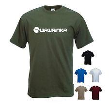 'Wawrinka' Stan Wawrinka Tennis / Wimbledon T-shirt Tee