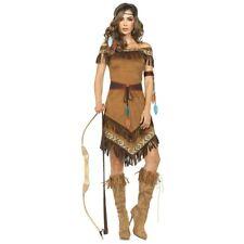 Pocahontas Costume Adult Indian Princess Halloween Fancy Dress