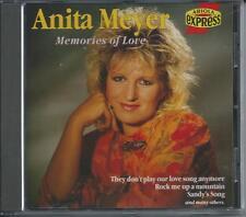 ANITA MEYER - memories of love CD Album 1989 (ARIOLA EXPRESS) RARE!!