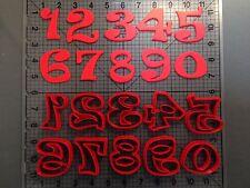 Ravi Font Number Cookie Cutter Set