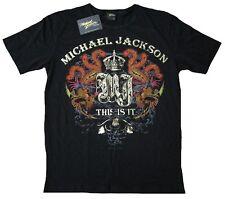 AEG Live LLC Under License Bravado Merchandis Official MICHAEL JACKSON T-Shirt L