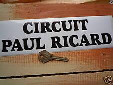 CIRCUIT PAUL RICARD Racing classic car or bike sticker