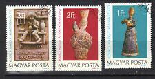 Hungary 1978 Ceramics Artist Margit Kovacs CNH SC ##  2554 - 2556