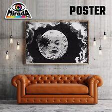 POSTER FILM CINEMA MUTO LUNA MOON CARTA FOTOGRAFICA QUALITA' 35x50 50x70 70x100
