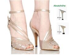 Neu Damen Ballsaal Latein Tango Salsa Tanzschuhe Latin Dance Heel Schuhe EU34-42