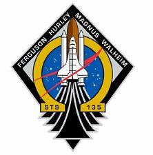 STS-135 Nasa Atlantis Sticker M565 Space Program