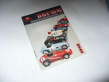 CATALOGO BRUMM 1982 MODELLISMO FIAT FERRARI ALFA ROMEO
