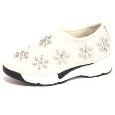 8972P sneaker donna UMA PARKER sleep on white bianco shoe woman
