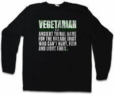 Vegetarian manga larga T-Shirt ancient name Fun Vegan veganos vegetariano vegetariana