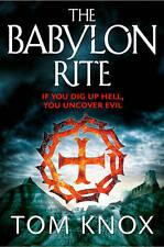 THE BABYLON RITE / TOM KNOX 9780007344024