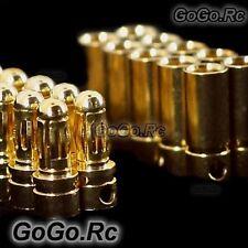 10 Set 3.5mm Gold Bullet Connector & Shrink tubing For Rc - SG-B03x10