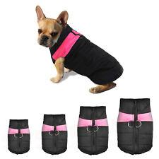 Pro Mantel Hunde Dog Haustier Vest Kleidung Winter Größe S/M/L/XL PINK