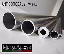 Tubo Tondo Alluminio da Ø 35 38 40 mm IN DIVERSE LUNGHEZZE E SP. ANTICORODAL