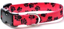 Black Paws/Red (#148) - Cat, Chihuahua, Shih Tzu, Papillon, Pomeranian, Husky