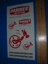 HAMMER NUTRITION - Mountain Road TRI Bike Sticker Decal
