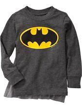 NWT Old Navy DC Comics Winged Superhero Costume Batman Cape Tee T-Shirt Boys 5T